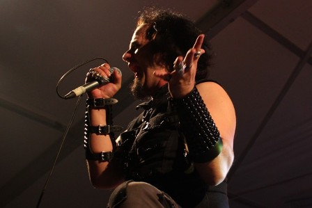 Brian Allen singing with Vicious Rumors