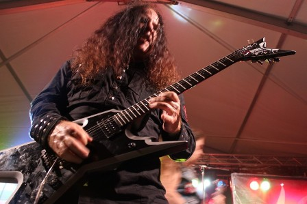 Geoff Thorpe live at the Alcatraz Metal Festival with Vicious Rumors
