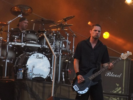 Jon Larsen and Anders Kjølholm live in Wacken