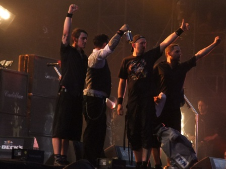 Volbeat thanks Wacken