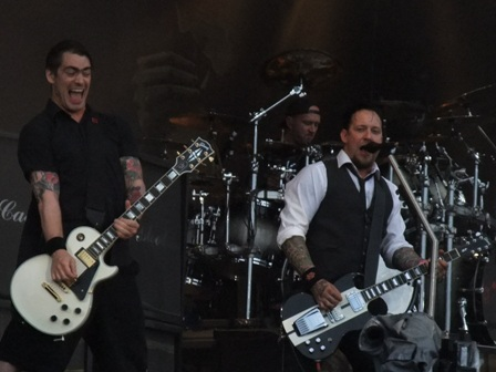 Thomas Bredahl, Jon Larsen and Michael Poulsen