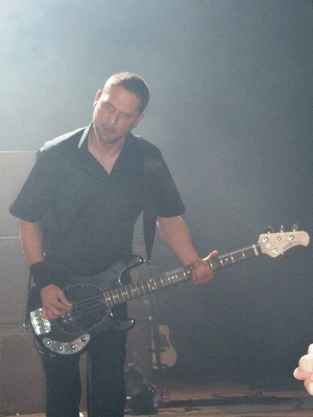 Anders Kjølholm - Volbeat Live in Antwerpen, October 2008