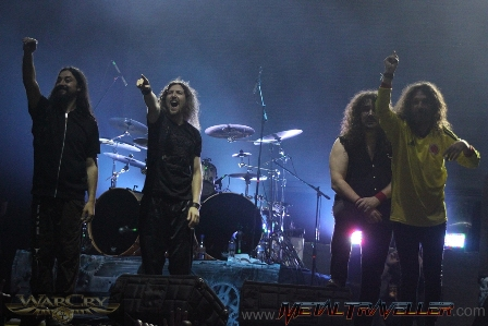 Warcry thanks the crowds in Bogotá