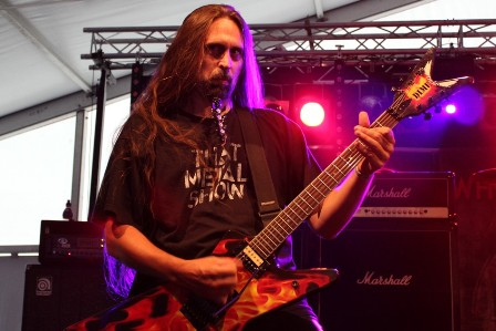 Ira Black live at the Alcatraz Metal Festival with W.A.S.