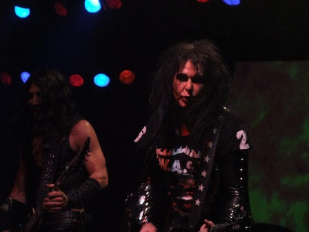 Doug Blair and Blackie Lawless with W.A.S.P. in Paris