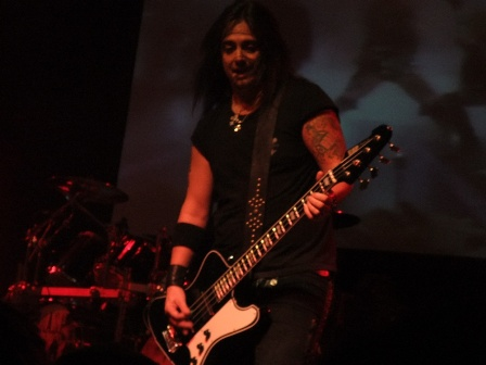 Mike Duda with W.A.S.P. in Paris