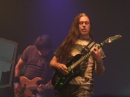 Frank Blackfire with Richi Day from Whiplash in Wacken