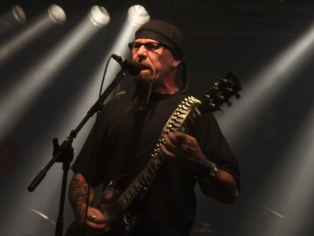 Tony Portaro from Whiplash live at Wacken Open Air