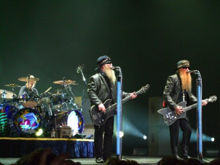 ZZ Top Live in Paris, July 2008