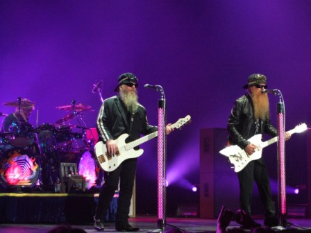 ZZ Top Live in Paris, July 10 2008