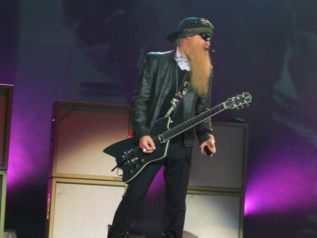 Billy Gibbons of ZZ Top having a smoke in Paris, July 10 2008