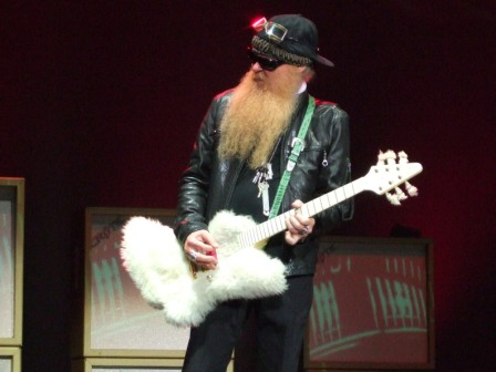 Billy Gibbons of ZZ Top Live in Paris, July 10 2008